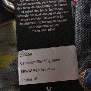 "66e7b89db True Religion Jeans - 🎉HP🎉🆕 True Religion ""Pop Art Paint"" Jeans"